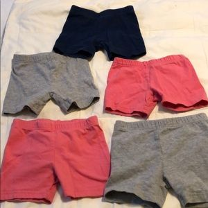 Lot of 4T and 5T Carter's shorts